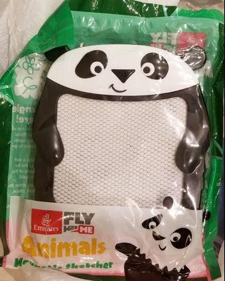 兒童畫畫 專用 熊貓 panda 磁石 畫板 animals magnetic sketcher
