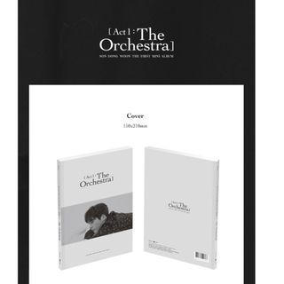 [PREORDER] 손동운 (SON DONGWOON) - ACT 1 : THE ORCHESTRA (1ST 미니앨범)