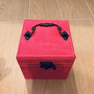粉紅色 首飾盒 Jewellery Box