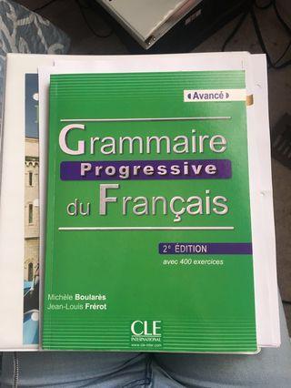 FRE601 FRE601 Grammaire Progressive du Français