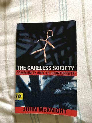 The Careless Society by John McKnight