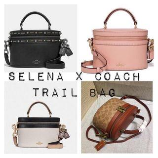 Selena Gomez x Coach Trail bag
