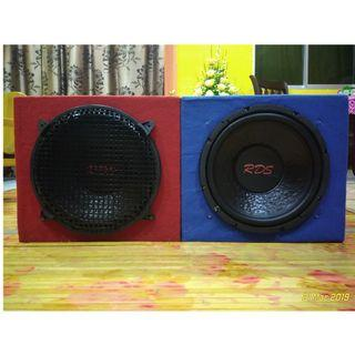 RDS SUBWOOFER DOUBLE 12""