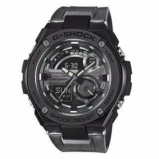 Jam Tangan Pria Casio G-SHOCK GST-210-1ADR Black Original Murah
