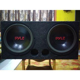 PYLE SUBWOOFER DOUBLE 12""