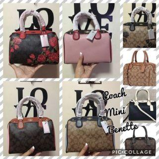 Coach Bennet Satchel Bag Mini
