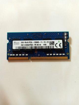 Ram 2GB DDR3L 1.35v