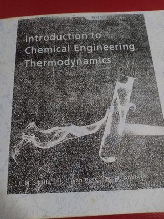 Introduction to Chemical Engineering Thermodynamics (Photocopy)