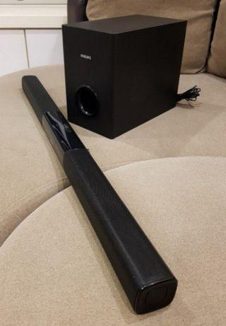 Philips HTL2153B Virtual Surround Soundbar with Subwoofer