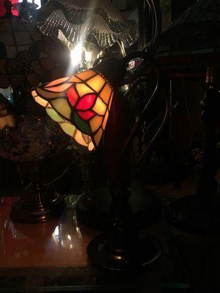 彩繪玻璃夜燈