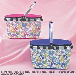 Sanrio Character 80s'Mix Cool Basket