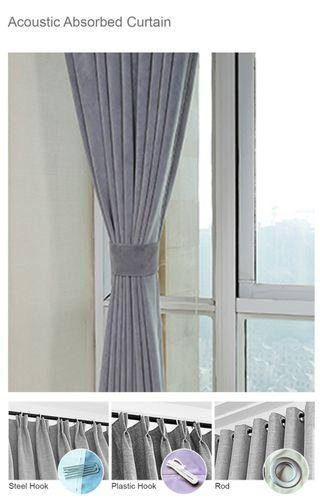 A Curtain + Soundproof 3 layer