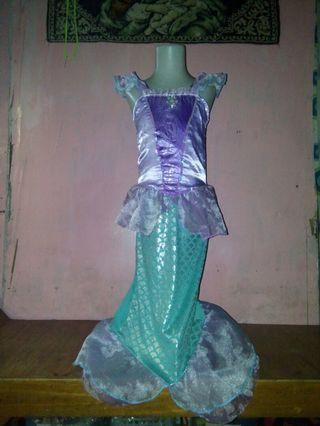 Ariel costume 7-8 yrs old