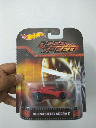 Agera R Hot Wheels - one and only release