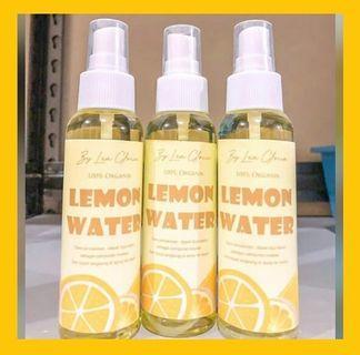 Lemon Water 100% organic 100ml