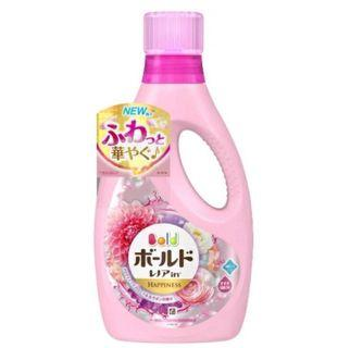 日本 BOLD】清香柔軟洗衣精 白金花香850g(藍)/香氛柔軟850g(粉色)