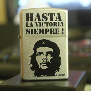 Che Guevara Zippo Lighter Hasta La Victoria Siempre