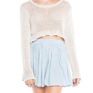Brandy Melville Blue Luma Skirt