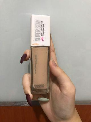 Foundation superstay maybeline shade 112