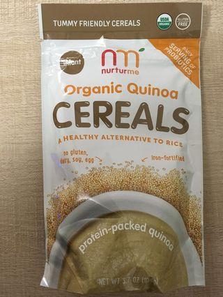 Nurturme 嬰兒 加固 米糊 organic cereal