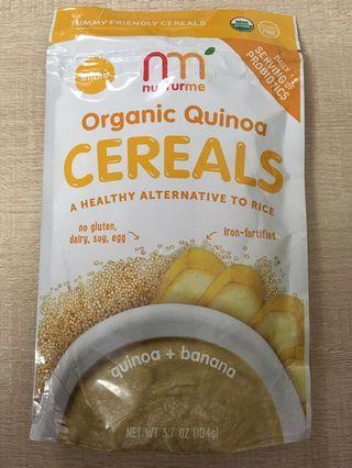 Nurturme 嬰兒 加固 香蕉米糊 organic banana cereal
