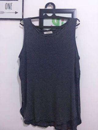 Pull & Bear Slit Tank Top