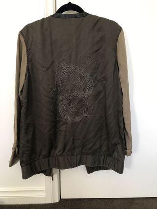 Dragon thin bomber jacket