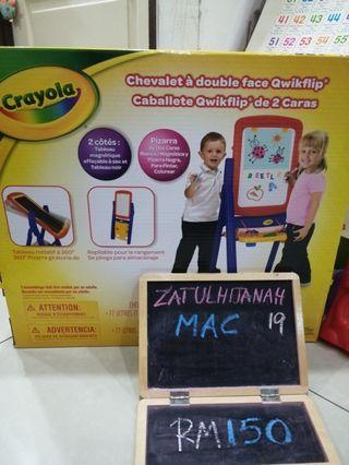 Crayola qwikflip double sided