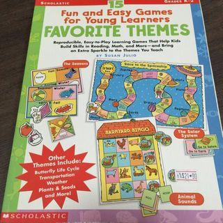 🚚 Scholastic Fun & Easy Games Young Learners Favourite Themes