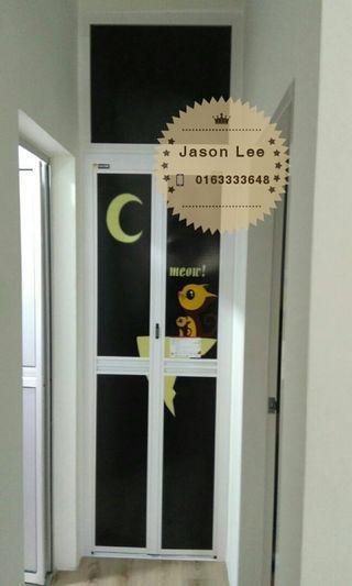 bifold door (pintu lipat aluminum)n1918
