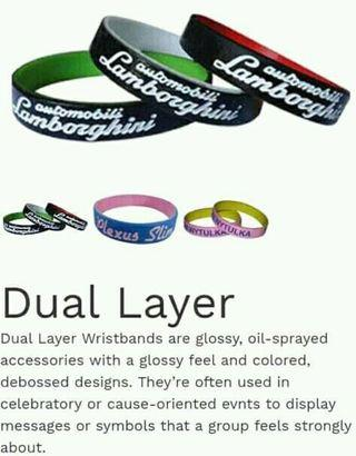Customizable Wristbands with logo/name