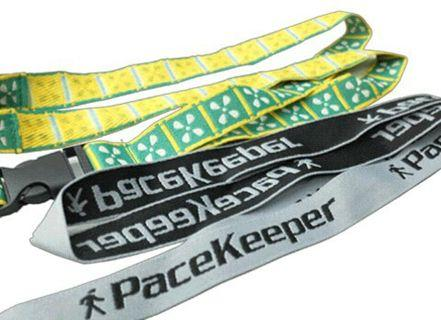 Customizable lanyards for companies, schools, exhibits, events
