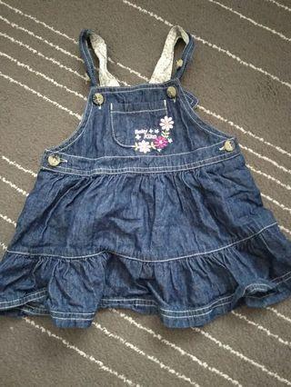 Girls Overall dress