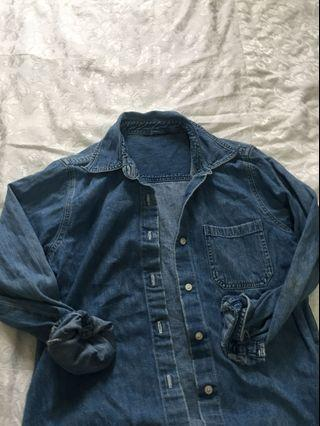 Vintage Denim Flannel