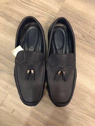 Navy Blue Milanos Loafers