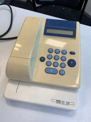 Electronic cheque writer