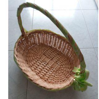 38 cm woven rattan basket  #EndgameYourExcess