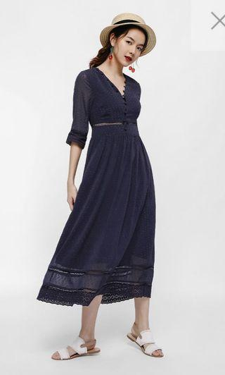 Love bonito drisa dot maxi dress