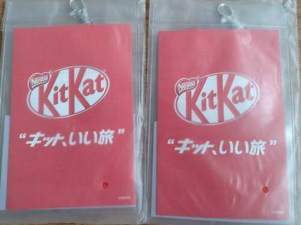 Kit Kat 証件套 x 2