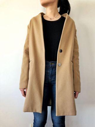 Veronika Maine - Camel Coat