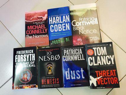 🚚 Crime Books Galore!