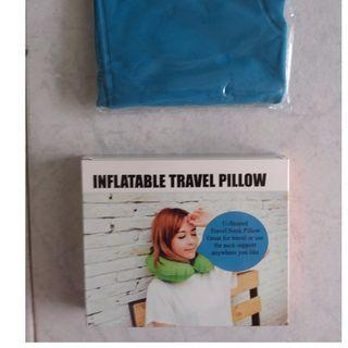 Blue Travel pillow (BNIB)  #EndgameYourExcess