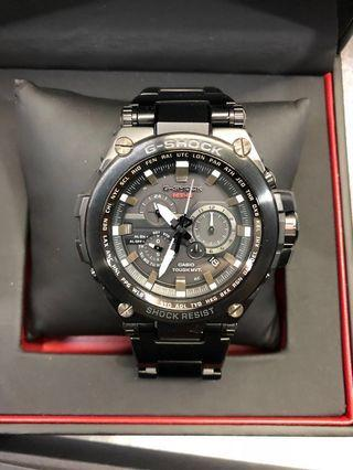 Casio G-Shock MT-G Tough Solar Radio Controlled Men's Black Stainless Steel Bracelet Watch MTG-S1000BD-1A
