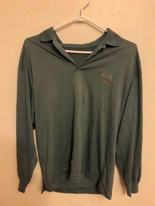 Vintage Long Sleeve Collar Shirt