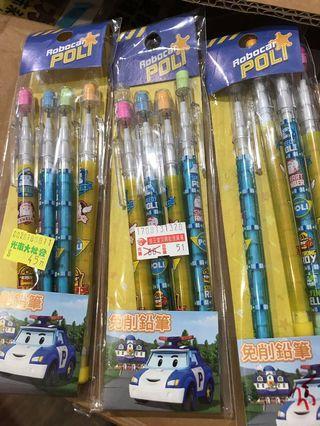 🚚 波力免削鉛筆ㄧ包4入