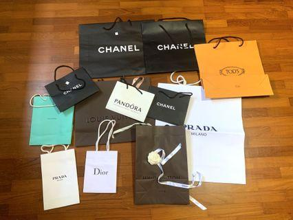 🚚 Branded Paper Bags (Authentic)