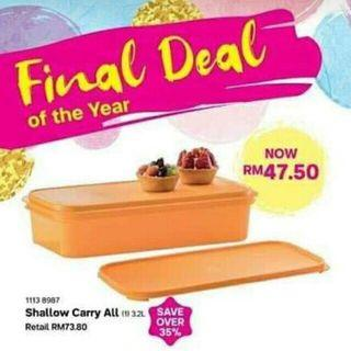 Tupperware Shallow carry all - Free Pos