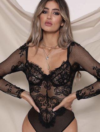 Brand new Danielle Lace Bodysuit - Size small - retail: $98 plus tax