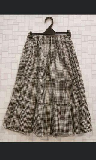 🚚 格紋造型蛋糕裙#半價衣服拍賣會