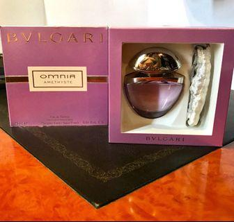 BVLGARI AUTHENTIC PERFUME OMNIA AMETHYST - Brand New and Never Used - negotiable